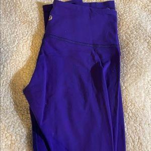 Reversible violate colored Lululemon leggings